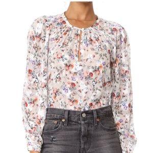 Rebecca Taylor floral blouse